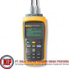 FLUKE 1524 2-Channel Handheld Reference Thermometer