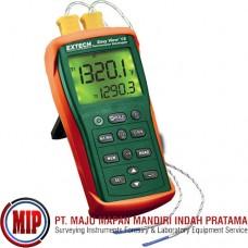 EXTECH EA15 EasyView Dual Input Temperature Datalogger