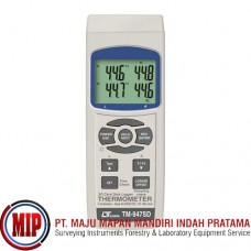 LUTRON TM947SD 4 Channel Handheld Digital Thermometer